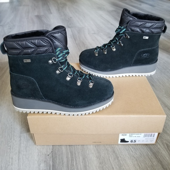 UGG Shoes - UGG Birch Lace-up Waterproof Boot.